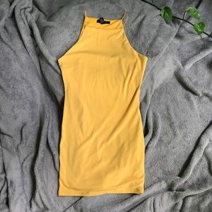 Forever 21 yellow dress. Sexy. Size S